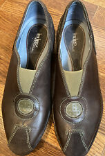 Clark's Indigo Womens Size 8 Leather Driving Moccasins Shoes Flats Comfort