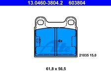 Plaquettes de frein ATE 603804 pour MERCEDES-BENZ