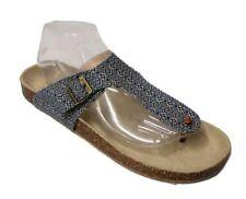 Aeropostale Women's Blue Cork Sandals US 10 NOB NWD Glue stains, pen Marks