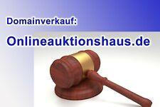 TOP-Domain ! *** www. Onlineauktionshaus .de *** - Spitzen-Domain f. Auktionen