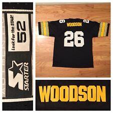VIntage Rod Woodson Pittsburgh Steelers Jersey #26 Starter Mens size XL NFL