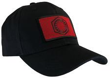 Star Wars First Order Hat Black Ball Cap RED & BLACK 100% Cotton Structured