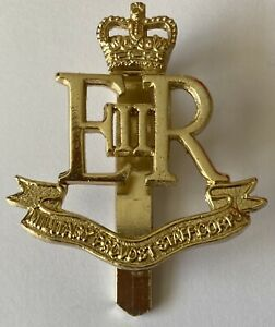 military provost staff corps staybrite cap badge