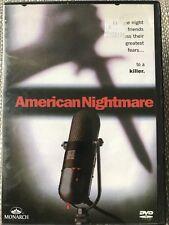AMERICAN NIGHTMARE DVD REGION 1