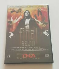 TNA Impact Wrestling Final Resolution 2005 DVD