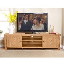 New Modern Solid Oak WoodenCorner TV Cabinet Stand Unit Living Room Furniture