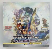 "Pokemon Card Game Sun & Moon New and Sealed ""Dream League"" Japanese Booster Box"