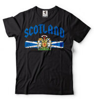 Scottish Distress Flag Scotland Fan Nationality Scotland Pride Heritage T shirt