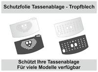 Schutzfolie für DeLonghi Magnifica - Tropfblech - Tassenablage - Abtropfblech
