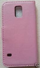 MOBILE PHONE CASE [For SAMSUNG GALAXY S5] - PINK - WITH MINI STYLUS - BRAND NEW