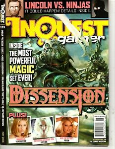 Inquest Gamer Magazine - May 2006 # 133 - Magic's Dissension Set, Dream Blade