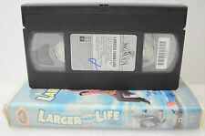 Larger Thank Life VHS Movie