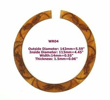 Acoustic Guitar Maple Wood with Inlay Rosette 1 Piece WR04@