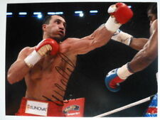 [4711] Wladimir Klitschko Boxing Signed 12x16 Photo AFTAL