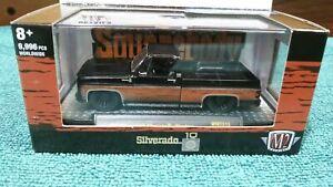 M2 Machines Square Body Syndicate 1979 Chevy Silverado Woodson Pickup