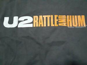 U2 T-Shirt M 1988 Rattle And Hum