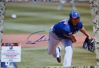 $99 SALE!!! Yu Darvish Signed Autographed Baseball 11x14 Photo GAI GA GV COA*