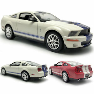 2007 Ford Shelby Cobra GT500 1:24 Model Car Diecast Toy Vehicle Collection Kids