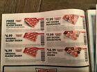 1 Sheet Krispy Kreme Coupons 10/24/21