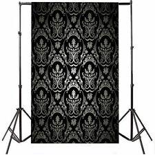 Vinyl Retro Damask Studio Backdrop Photo Photography Background Props 5x7FT