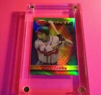 1994 TOPPS FINEST REFRACTOR Baseball DAVID JUSTICE #233 Braves