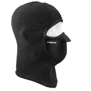Seirus Combo Clava | Black Fleece Face Mask Baclava | 2880