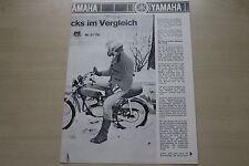 171110) Yamaha RD 50 M DT 50 M - PS Sonderdruck - Prospekt 03/1979