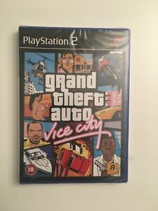 Grand Theft Auto Vice City SEALED Brand New PS2 PlayStation 2