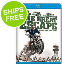 The Great Escape (Blu-ray, 2013) NEW, Sealed, Steve McQueen, James Garner