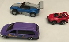 Lot Of 3 Lego Minivan Race Car Diecast Toy Car