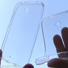 custodia in silicone cover trasparente per Alcatel OT5056 POP 4+ plus anti shock