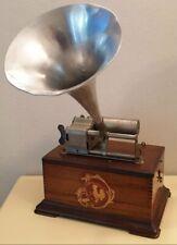 Phonographe A Cylindre Pathe Freres Je Chante Haut Et Clair Gramophone