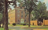 Crawfordsville Indiana~Goodrich Hall Wabash College~1950s Postcard