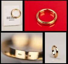 $1,385 BRAND NEW TOM FORD for GUCCI YELLOW GOLD RING WEDDING BAND 7.5
