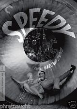 SPEEDY DVD - THE CRITERION COLLECTION - HAROLD LLOYD - TED WILDE