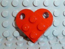 LEGO® Kette Herz Anhänger rot 2-teilig Charm Partnerkette Christmas R381