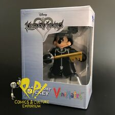 "Kingdom Hearts BLACK Coat MICKEY Vinimate 4"" ACTION FIGURE Diamond Select Toys!"