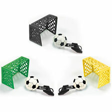 6 Football Soccer Children's Party Loot Gifts Favours Goal Scorer Tabletop Games
