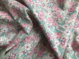EXCLUSIVE Liberty Tana lawn PRIMROSE PATH pink 0.50 metre ~ limited edition
