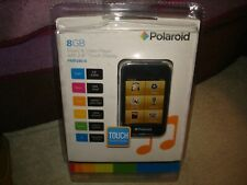 """POLAROID 8G MUSIC AND VIDEO PLAYER WITH 2.8"""" TOUCH SCREEN"""