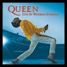 Queen - Live at Wembley Stadium - Framed Album Cover Print ACPPR48056