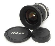 Nikon Nikkor Ai-s 18mm F3.5 MF Lens. Filter