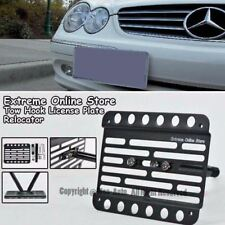 Tow Hole License Plate For 03-09 Mercedes Benz W209 CLK55 AMG CLK 63 AMG No PDC