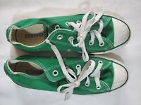 Converse All Star Low Top Green Shoes Men's 4 Women's 6