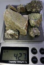 $348-427 Carat Lot Gold Ore Specimen Quartz!