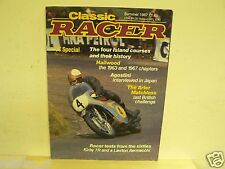 CLASSIC RACER 1987 SUMMER ISSUE 18,HAILWOOD,SEELEY,KIRBY,ARCHER MATCHLESS