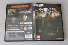Resident Evil VII Biohazard  PC DVD  BOX