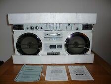 LASONIC TRC-931 MackDaddy Dual Cassette Bombox