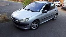 Peugeot 206 GLX 1.4L Petrol. 2002. Silver. 5 door. Long MOT, Cheap car.