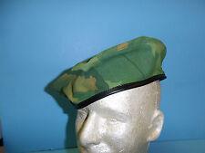 b2605-62  Vietnam era Beret Force Recon Mitchell Pattern Size 62